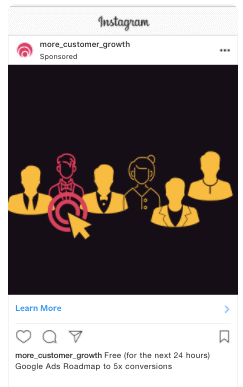 instagram advertisment